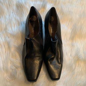 Aerosoles Heeled Ankle Booties Black